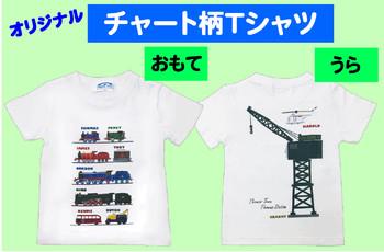 おすすめ★オリジナル「チャート柄Tシャツ」