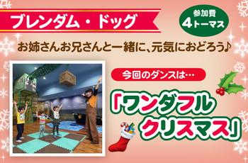 ☆ブレンダム・ドックでクリスマスダンス☆