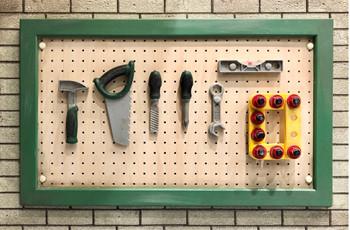 小さなかわいい工具がいっぱい!
